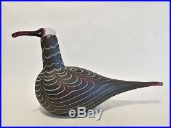 Oiva Toikka bird Curlew glass design Birds by Toikka Iittala Finland