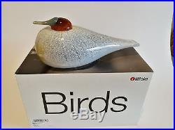 Oiva Toikka bird LATOHAAPANA SSKK 2010 design glass Birds by Toikka Iittala BOX