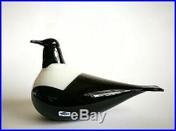 Oiva Toikka bird Magpie Harakka design glass Birds by Toikka Iittala Finland