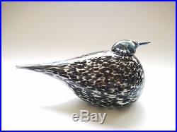 Oiva Toikka bird Mirella Art glass design Birds by Toikka Iittala Finland