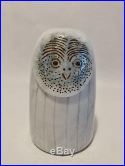 Oiva Toikka bird Owl Rospuuttopollo glass design Birds by Toikka Iittala Finland