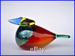 Oiva Toikka bird Queen Fisher glass design Birds by Toikka Iittala Finland II