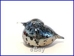 Oiva Toikka bird Small Goldcrest glass design Birds by Toikka Iittala Finland #2