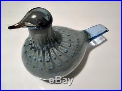 Oiva Toikka glass design special bird PILVIKKI Iittala Finland, BOX