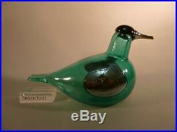 Oiva Toikka iittala Big Tern green TACOMA rae bird LTD