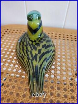 Oiva Toikka iittala Bird Common Female Teal