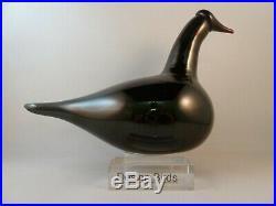 Oiva Toikka iittala Black Swan extreemly rare Tacoma bird