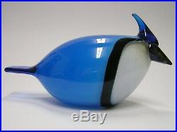Oiva Toikka iittala Canadian Blue Jay Finn fest bird RARE