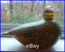 Oiva Toikka iittala Finland Nuutavarvi Glass Bird