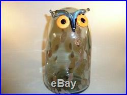 Oiva Toikka iittala Long eared Owl