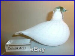 Oiva Toikka iittala Snowbird Spec. USA bird