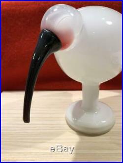 Rare Iittala Bird White IBIS NO BOX TW640