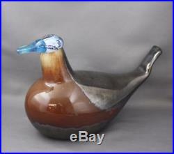 Rare Toikka Ruddy Duck Bird 265/300 In Box Iitala Finland Signed