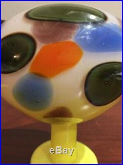 Rare Vintage Iittala Oiva Toikka Limited Edition Bird Jeweled Kiwi Jalokiwi