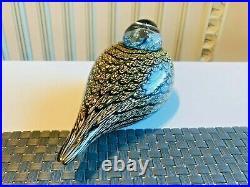 Sweet design glass bird Spotted Crake Oiva Toikka Nuutajärvi Iittala NIB
