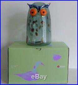 Toikka Iittala Long Eared Owl /Horned Owl /Sarvipöllö New in Box