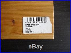Toikka birds Iittala Set of 4 Numbered Sieppo Flycatcher Ltd Edition Wooden Box