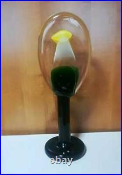 Unused 2015 Iittala Oiva Toikka Lollipop Glass Art Bird Only 50 With Box